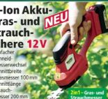 Li-Ion Akku-Gras-Strauchschere von Walter