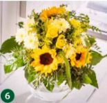 Sonnenblumenstrauß von Dehner