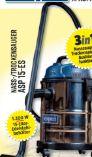 Nass-Trockensauger ASP 15-ES von Scheppach