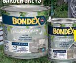 Holzlasur Garden Greys von Bondex
