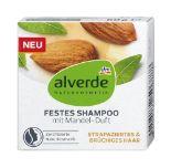 Festes Shampoo von Alverde