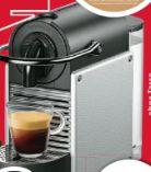 Nespresso Kapselmaschine EN124.S Pixie Electric Aluminium von DeLonghi