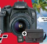 Systemkamera-Set EOS 2000D von Canon