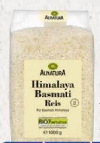 Bio Himalaya Basmati Reis von Alnatura