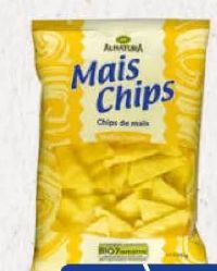 Bio Mais Chips von Alnatura