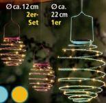 LED-Solar-Spiral-Lampions von I-Glow