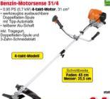 Benzin-Motorsense 31/4 von Gardenline