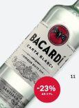 Weißer Rum von Bacardi
