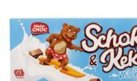 Schoko-Keks-Riegel von Mister Choc
