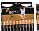 Batterien von Duracell