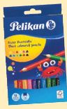 Dicke Buntstifte Dreikant von Pelikan