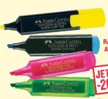Textmarker von Faber Castell