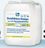 Desinfektionsreiniger von Dr. Becher