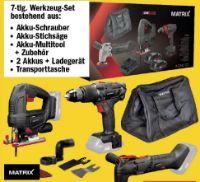 Akku-Werkzeugset X-One von Matrix