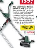 Akku-Rasentrimmer Universal Grass Cut 18-260 von Bosch