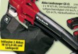 Akku-Laubsauger  GE-CL 36 Li E Solo von Einhell