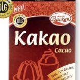 Kakao von Zauberhaft Backen