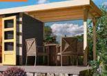 Holz-Gartenhaus Raala von Karibu