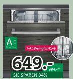 Geschirrspüler-Set SN636XSZ73 von Siemens