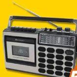Retro-Kassetten-Radio RR18SW von Soundmaster