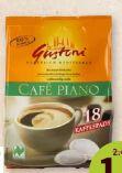 Bio-Kaffeepads von Gustoni