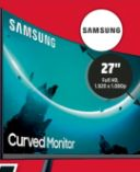 Curved Monitor CT55 von Samsung