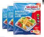 Breaded Mozzarella Sticks von Salomon Food World