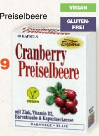 Cranberry-Preiselbeere Kapseln von Espara