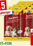 Hundesnack Sticks von fit+fun