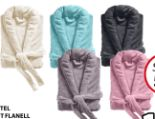 Bademantel Supersoft Flanell