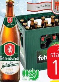 Jubiläum von Fohrenburger