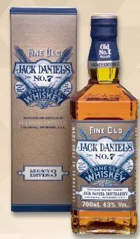 Tennessee Whiskey Legacy Edition von Jack Daniel's