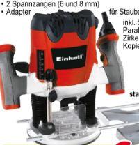 Elektronik-Oberfräse TE-RO 1255 E von Einhell