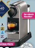 Nespresso Kapselmaschine CitiZ XN741B Silber von Krups