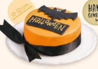 Halloween Sachertörtchen von Merkur Markt Konditorei