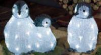 Pinguinfamilie von Konstsmide
