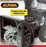 Stiga Benzin-Schneefräse AS 56 P von Alpina
