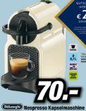 Nespresso Kaffeemaschine EN 80.CW Inissia Vanilla Cream von DeLonghi