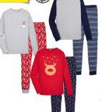 Herren-Xmas-Pyjama