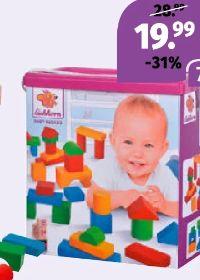Baby-Holzbausteine von Eichhorn