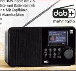 DAB+UKW-Radio BR-Edition DAB18C von Dual