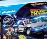 Back to the Future DeLorean von Playmobil