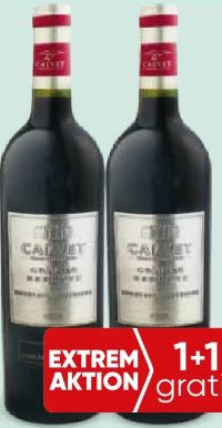 Grande Reserve Bordeaux Supérieur von Weingut Calvet