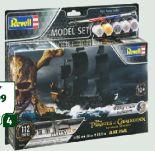 Model-Set Piratenschiff Black Pearl von Revell