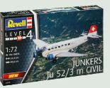 Junkers JU52-3M Civil von Revell