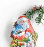 Kinder Schokolade Weihnachtsmann von Ferrero