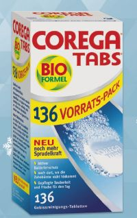 Protesenreiniger Tabs von Corega