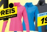 Damen Basic Fleece Zipp von Benger