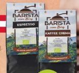 Bio-Kaffee von Barista vom Berg