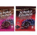 Schoko-Rosinen von Choceur